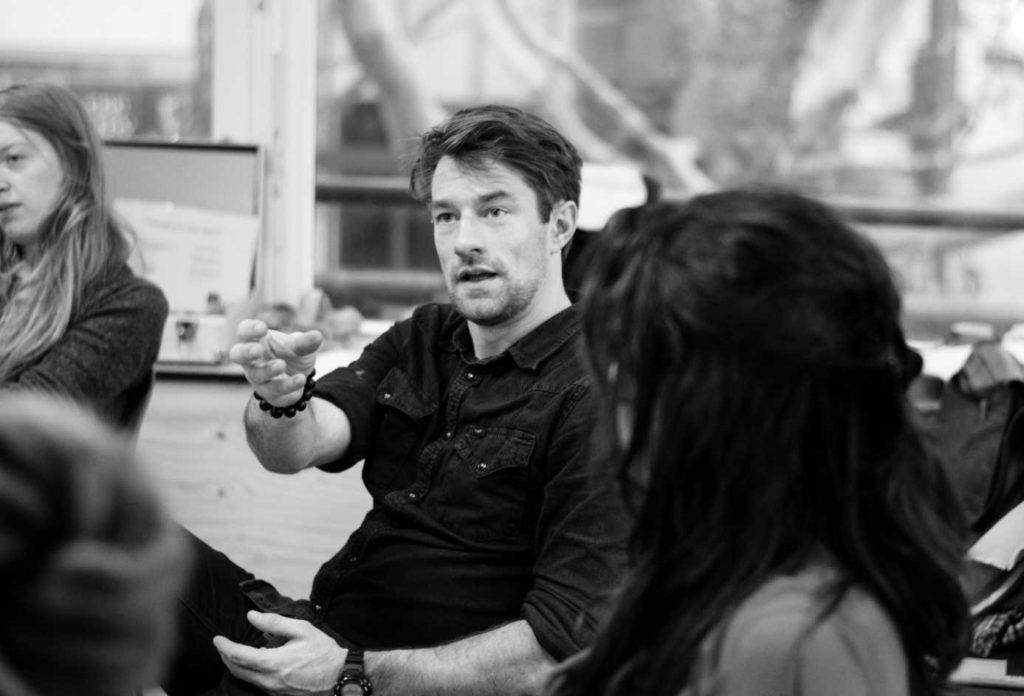 René Langheinrich im Workshop